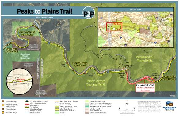 P2P Trail Construction 2016-2017