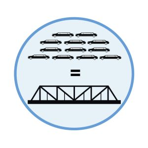 Limo-bridge graphic