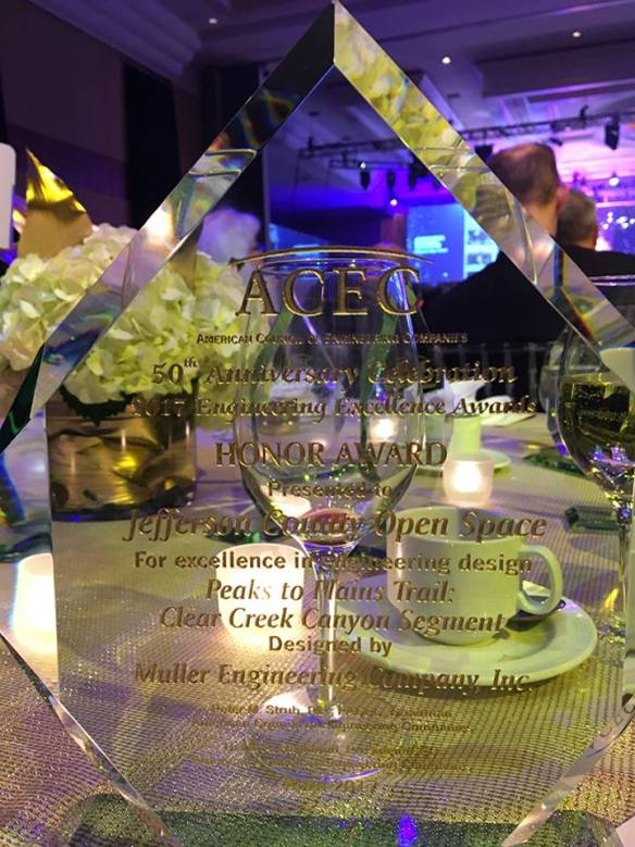ACEC Honor Award for excellence in engineering